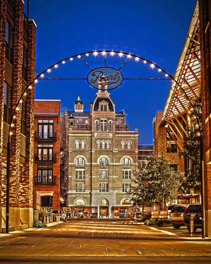 The Historic Pearl Brewery, San Antonio, Texas Find more great Images at…