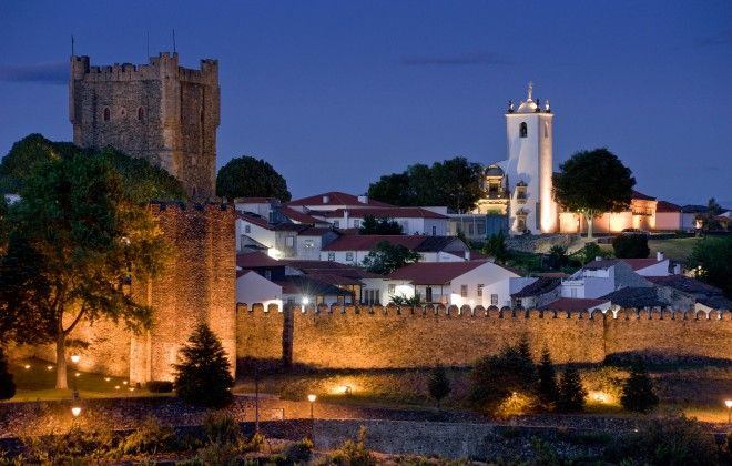 Portuga, Tras-os-montes, Braganca at twilight. #portugal #travel