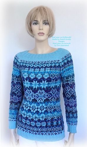 Ravelry: Next year in Lerwick pattern by Tori Seierstad I wonder how many years it would take me to make this -- KM