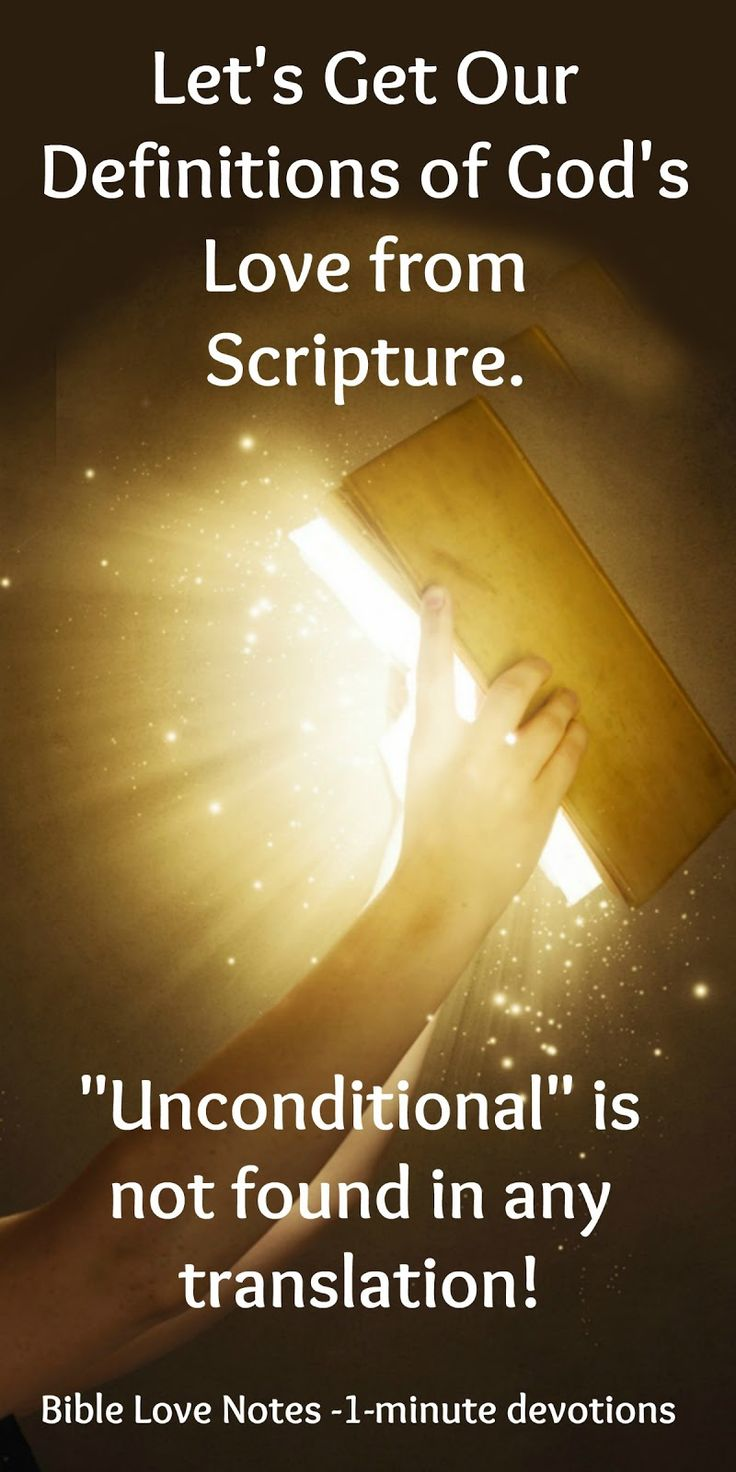 Will you use a word coined by an atheist psychologist that leads to many misunderstandings or will you use the words of Scripture to define God's Love?