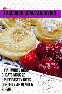Cream Puffs YIAH Style