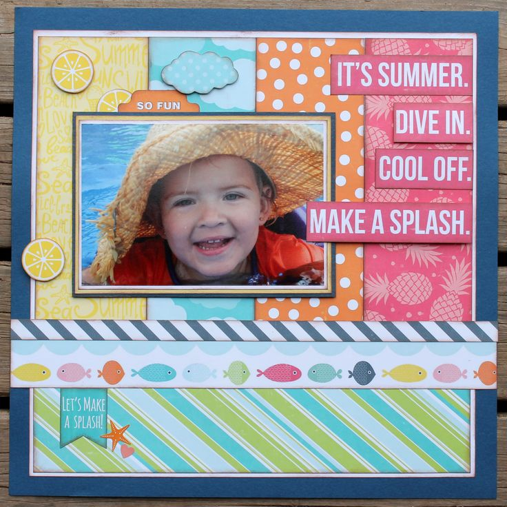 It's+Summer - My Creative Scrapbook- July 2016 Creative Kit Echo Park Paper- Summer Party Collection
