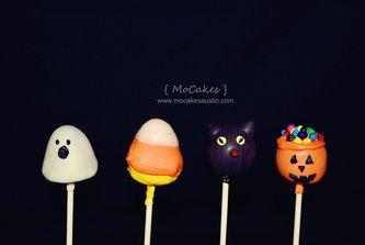 Halloween Cake Pops - MoCakes