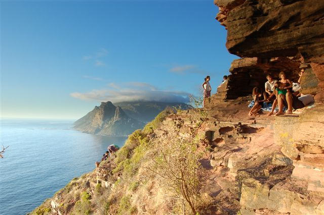 Fine Places - Chapmans Peak on Table Mountain Range, Cape Town, South Africa. One of the best hiking spot in the world!