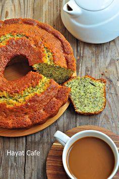 Haşhaşlı Kek Tarifi | Hayat Cafe Kolay Yemek Tarifleri