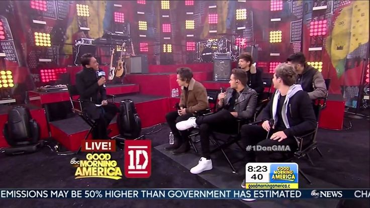 One Direction being interviewed on GMA (11/26/13) (HD)