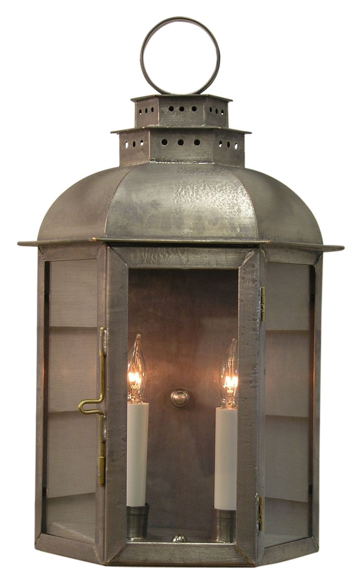 Buy The Metedekonk Wall Mount Lantern by Authentic Designs - Made-to-Order designer Lighting from Dering Hall's collection of Rustic / Folk Traditional Lanterns.