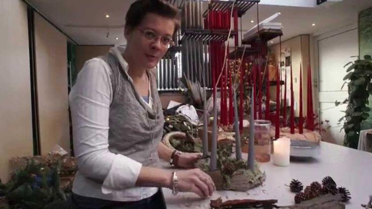 Lav en adventskrans med Elisabeth Bønlykke