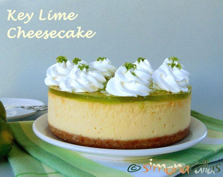 Key Lime Cheesecake / Cheesecake cu limete Cremos de se topeşte în gură, dulce-acrişor, parfumat şi delicat, desertul acesta e rafinat şi savuros...