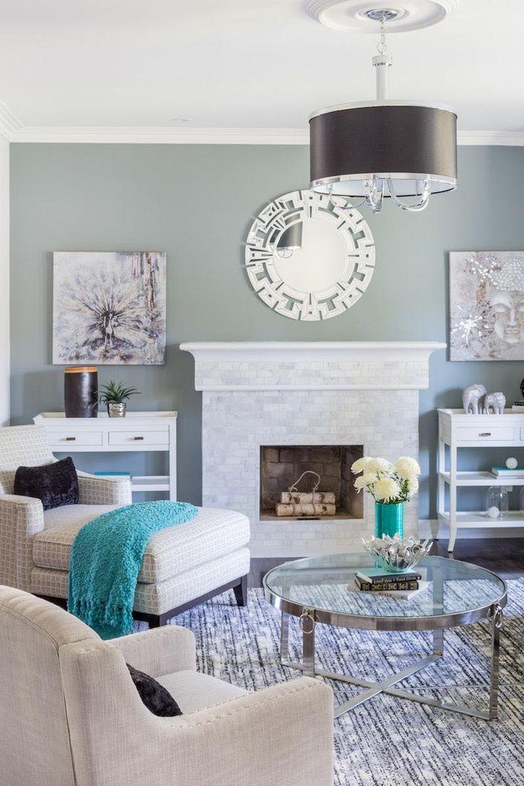 """""""Sparkling Gem"""" living room designed by Lionsgate Design"""