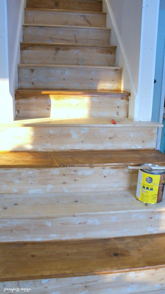 Best How To Paint And Stain Stairs For An Updated Look 640 x 480
