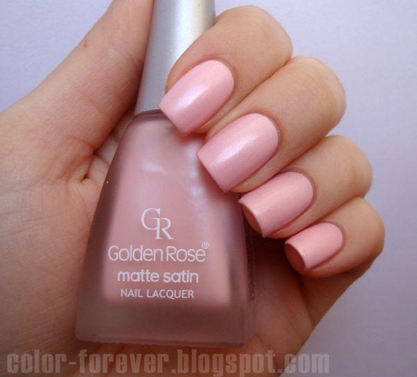 Golden Rose Matte Satin Nude 05