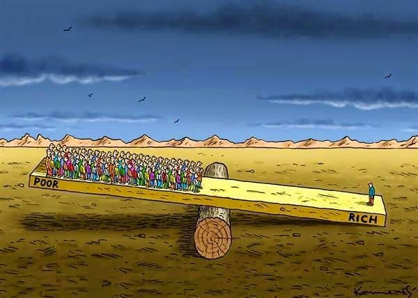 1% da população mundial concentra metade de toda a riqueza do planeta - http://controversia.com.br/21234