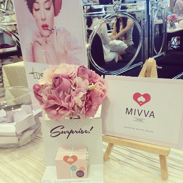 """@mivvabeauty's photo: """"Earlier today at the #AUPRES Bloggers Pampering Workshop """""""