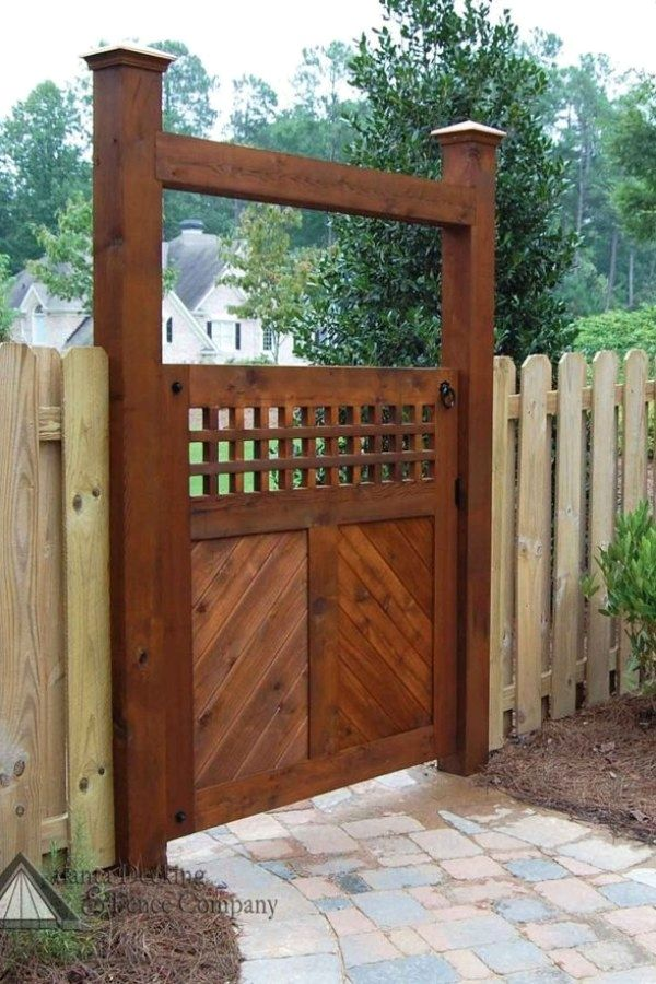 Creative Diy Garden Gate Plans To Build Yourself To Complement Your