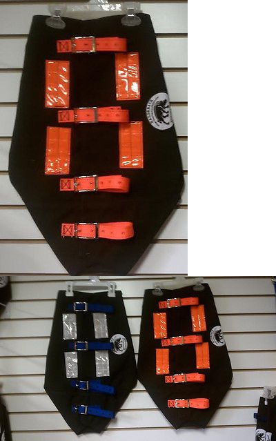 Leashes and Head Collars 146247: Hog Dog Cut Vest- Medium- 27-30 Orange -> BUY IT NOW ONLY: $76.99 on eBay!