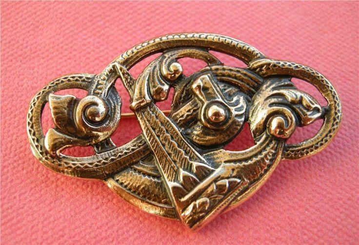 Jättefint Vikinga Brosch Brons på Tradera. Övrigt | Broscher | Smycken &