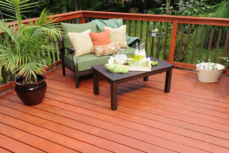 2 Tone Deck Staining Ideas Stained Furniture Looks