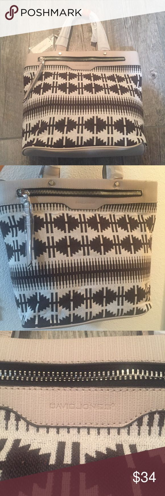 BNWT David Jones handbag Great design, brand new with tags attached. Great for everyday, school or bag for work! David Jones Bags Totes