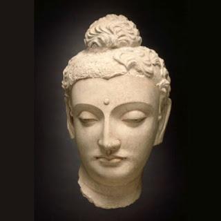 Head of Buddha Śākyamuni, 4th century