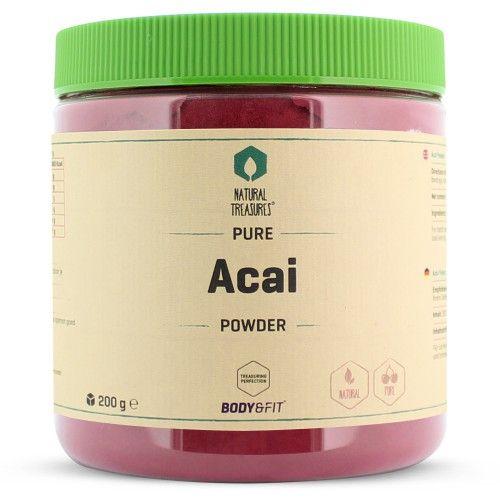 Met deze Pure Acai Poeder heb je alle voordelen van de bessen binnen handbereik en een makkelijke op te lossen poeder. Slechts 1-2 theelepels per dag is al voldoende. Handig te mengen in een smoothie of shake.