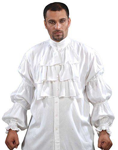Pirate Ruffled Seinfeld Puffy Shirt (Large) ThePirateDres…