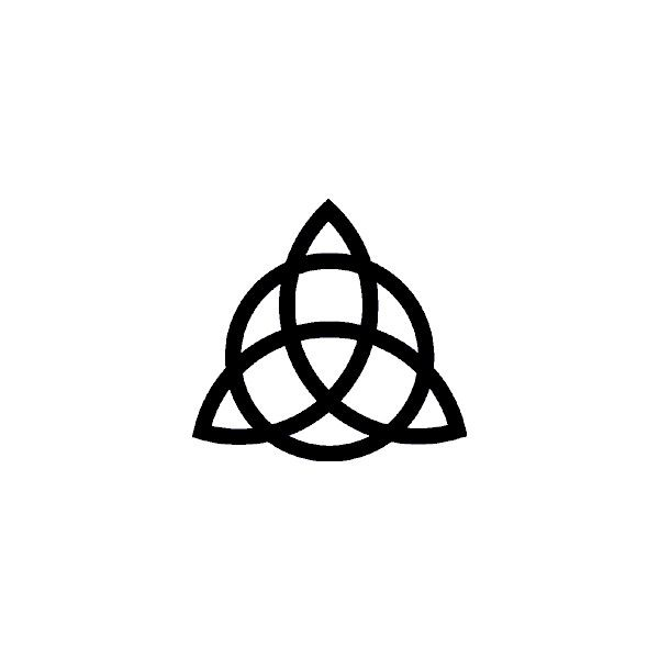 Triquetra Symbol.gif liked on Polyvore featuring charmed ...