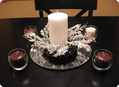 Little House on the Corner: Deconstructed DIY Advent Wreath