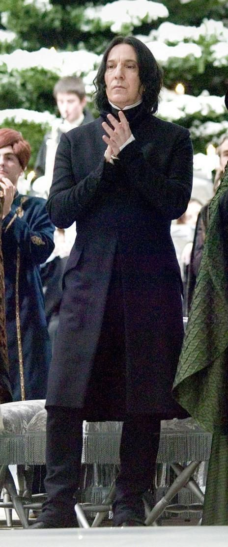 Severus at the Yule Ball