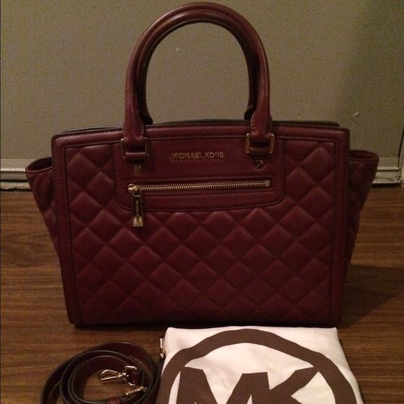 Selling this NWOT Michael Kors Quilted Large Selma on Poshmark! My username is: jordnmichele. #shopmycloset #poshmark #fashion #shopping #style #forsale #Michael Kors #Handbags