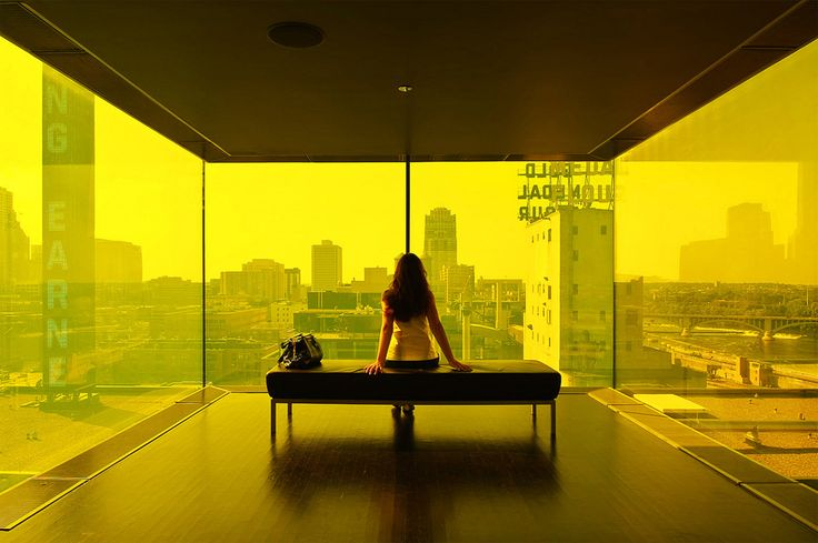 Yellow: Minneapolis Guthri, Yellow Rooms, Guthri Theater, Mpls, The View, Colour Photography, The Cities, Architecture, Cities Lights