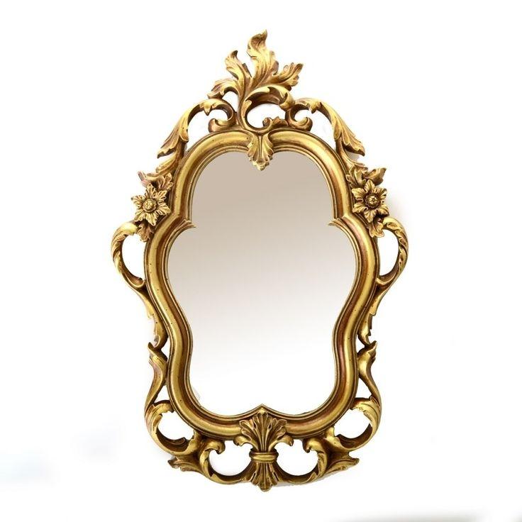 M s de 25 ideas incre bles sobre espejos dorados en for Espejos dorados ovalados