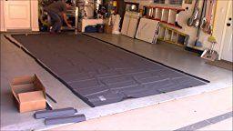 Auto Care Products 60920 Clean Park 9' x 20' Garage Mat Demo