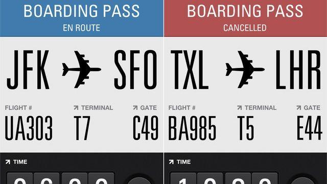 Flights app.  Get.