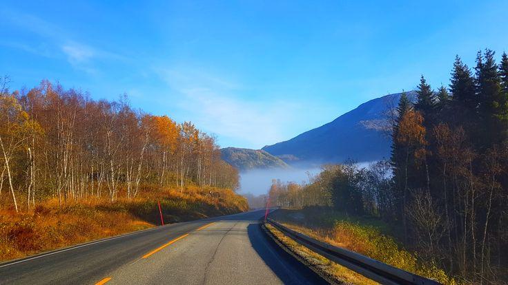 Go where Google can't! Czyli jesienna wyprawa do lapońskiego wodospadu  Nie ma nic piękniejszego od kolorowej i słonecznej jesieni za kołem podbiegunowym! W tym roku była szczególnie przyjazna dla mieszkańców północy. Przyszła powoli, zmieniając się z arktycznego lata w cudowny ciepły sezon przejścia do zimy. Jesień