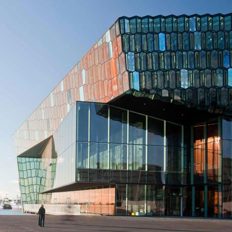 Shortlisted for the European Union Prize for Contemporary Architecture, the Mies van der Rohe Award 2013, Harpa Concert and Conference Centre Reykjavík by Batteríid architects, Henning Larsen Architects and Studio Olafur Eliasson