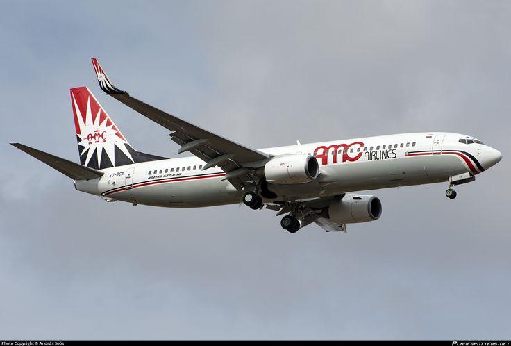 SU-BSA AMC Aviation Boeing 737-86Q(WL)