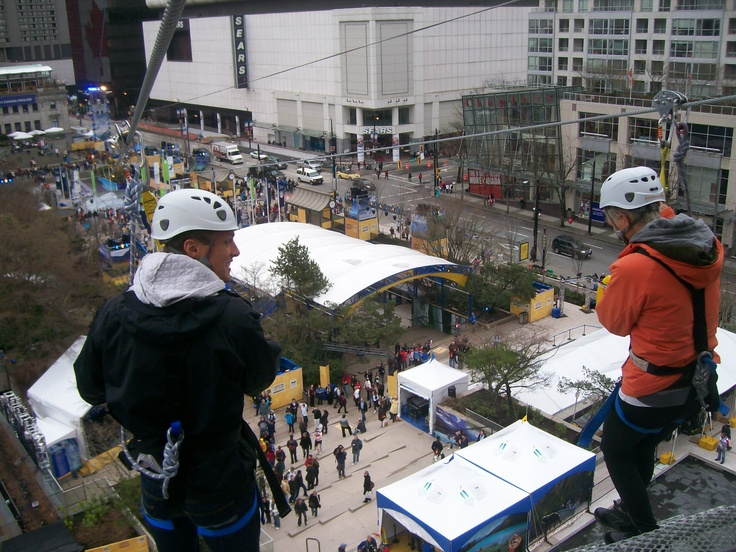 Robson Square launch - Winter Olympics 2010 (Vancouver)
