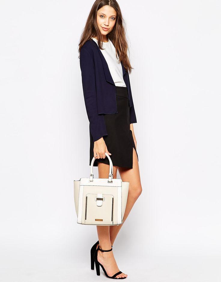 Image 3 ofCarvela Tote Bag With Front Pocket