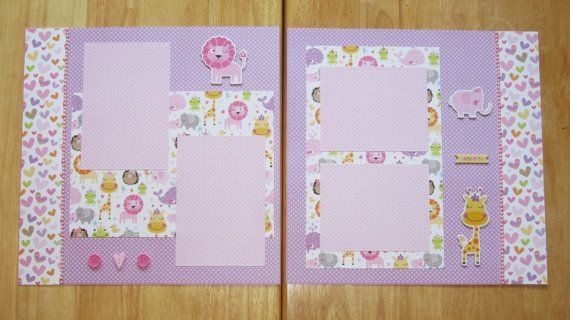 made with Bella Blvd Cute Baby Girl collection