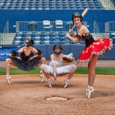 Ballerina Baseball