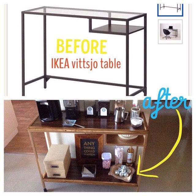 Ikea vittsjo laptop table hack | hello coffee station ...