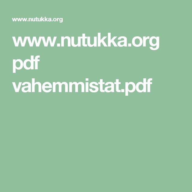www.nutukka.org pdf vahemmistat.pdf