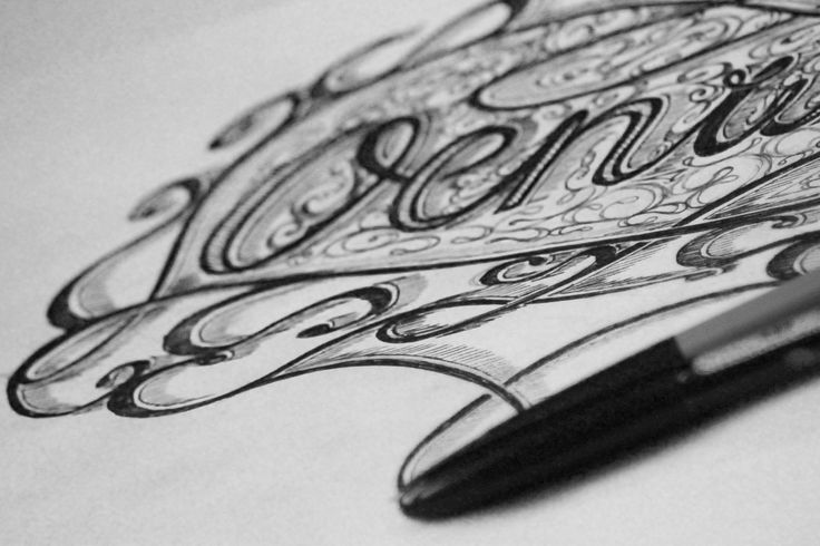 And some practice with hand lettering
