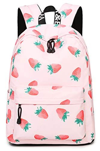 5a2b4a0e59c9 New Oflamn School Backpack for Girls Cute Floral Bookbag College ...