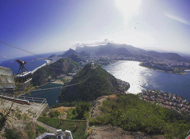 Best view in the world to enjoy a caipirinha to #riodejaneiro #brazil #sugarloaf #cablecar #view #travel #beach #sun #bluesky #caipirinha #instatravel #travelgram #globetrotter #city by simonmonschi. travel #globetrotter #riodejaneiro #bluesky #sun #city #instatravel #travelgram #view #cablecar #beach #brazil #sugarloaf #caipirinha #micefx [Follow us on Twitter (@MICEFXSolutions) for more...]