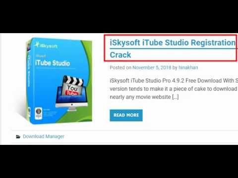 iSkysoft iTube Studio 2 license