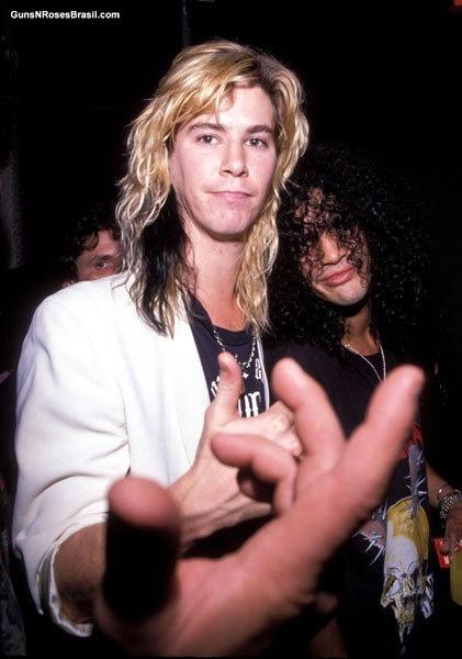 Duff Mckagan and Slash