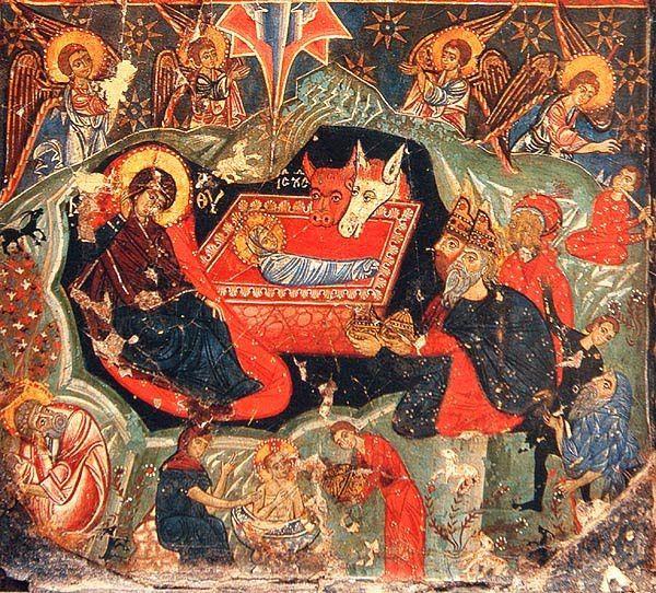 Coptic nativity icon | Flickr - Photo Sharing!