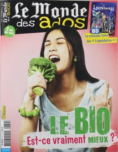Le Monde des Ados – N°334, 19 novembre 2014 – Dos…